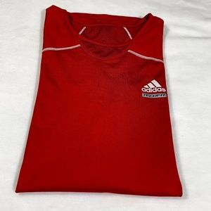 Adidas Tech Fit Compression Red shirt